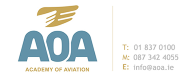 Academy of Aviation Logo, Excel Aviation, Airport Job Courses