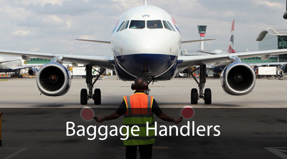 Baggage Handlers Marshalling | Excel Aviation
