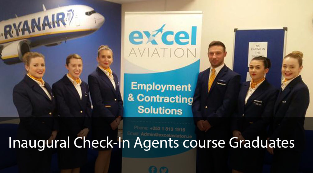Inaugural Check-In Agents Graduates