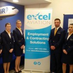 Excel Aviations inaugural Ryanair Check In Agents