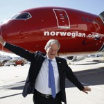 Bjørn Kjos, Norwegian CEO Airplane