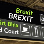 Dublin Airport Sign Brexit This Way | Excel Aviation